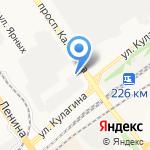 Профессо-плюс на карте Барнаула
