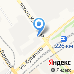 Техно-Церкон на карте Барнаула