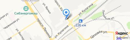 Монтана кофе на карте Барнаула