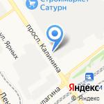 СТУДИЯ ПЕЧАТИ МАНГО на карте Барнаула