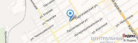 Фармасервис на карте Барнаула