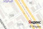 Схема проезда до компании Загадки Хогвартс в Барнауле
