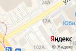Схема проезда до компании Майя в Барнауле