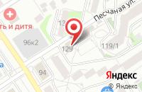 Схема проезда до компании Персонал-Тек в Барнауле