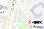 Схема проезда до компании Центр сметного дела в Барнауле