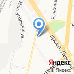 Центральная городская библиотека им. Н.М. Ядринцева на карте Барнаула