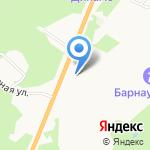 Магазин саженцев на карте Барнаула