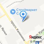 Аверс Ko на карте Барнаула