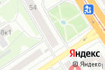 Схема проезда до компании Винир в Барнауле