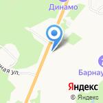 ЛУКОЙЛ на карте Барнаула