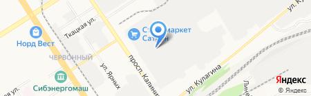 Корпорация НОВАТОР на карте Барнаула