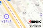 Схема проезда до компании Секунда в Барнауле