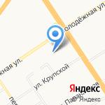 Гаражно-строительный кооператив №20 на карте Барнаула