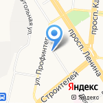 Центр сметного дела на карте Барнаула