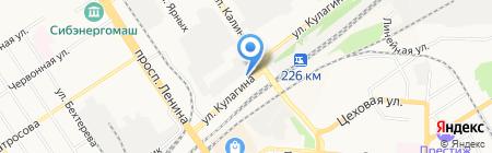 Восток-Авто на карте Барнаула