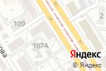 Схема проезда до компании Малавит в Барнауле