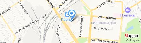 Губернский лекарь на карте Барнаула