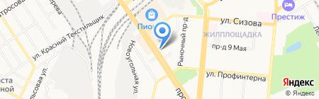 Русская душа на карте Барнаула