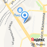 Секунда на карте Барнаула