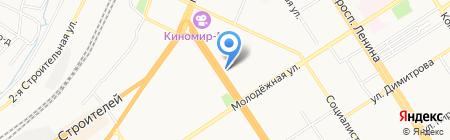 Хобби на карте Барнаула