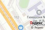 Схема проезда до компании Секрет Красоты в Барнауле