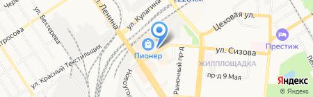 Государственная инспекция труда в Алтайском крае на карте Барнаула