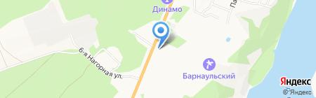 Пожарная часть №9 Центрального района на карте Барнаула