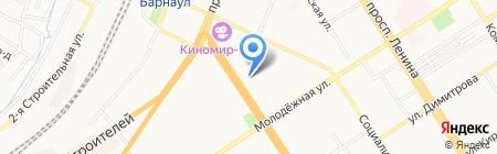 ЛогКомплекс на карте Барнаула