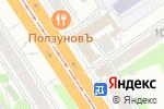 Схема проезда до компании МОНРО в Барнауле