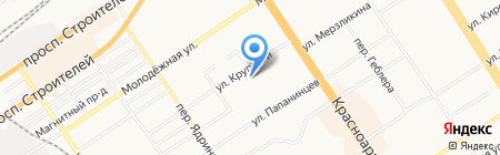 РиК на карте Барнаула