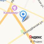 Format Dance Studio на карте Барнаула