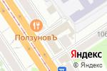 Схема проезда до компании ПромГазМонтаж в Барнауле
