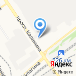 Автостатус на карте Барнаула