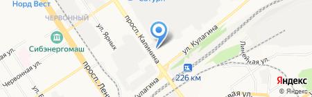 Межрайонный центр дезинфекции на карте Барнаула
