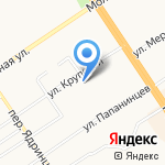 Базилио на карте Барнаула