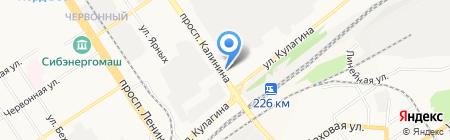 ГлавСвет на карте Барнаула