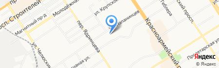 СтройгазКомСервис на карте Барнаула