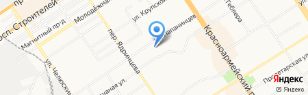 СтройКомСервис на карте Барнаула