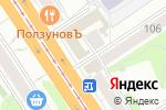 Схема проезда до компании Алтайский экономико-юридический институт в Барнауле