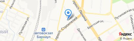Банкомат МДМ Банк на карте Барнаула