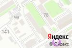 Схема проезда до компании Элис в Барнауле