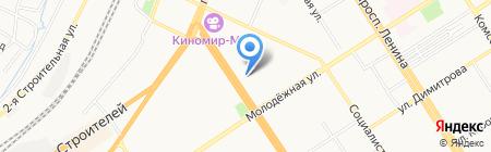 УК Старый город на карте Барнаула
