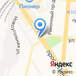 Слон на карте Барнаула