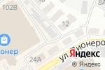 Схема проезда до компании Мото-Мир в Барнауле