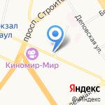 Сеть платежных терминалов на карте Барнаула
