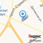Саквояж Классик на карте Барнаула