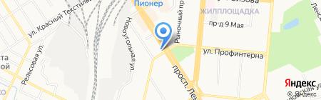 Гриль-бар на карте Барнаула