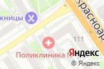 Схема проезда до компании Ева 21 в Барнауле