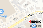Схема проезда до компании СтаМит в Барнауле