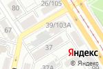 Схема проезда до компании Ремонт окон в Барнауле